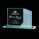 Custom Jade Colliseum Award w/ Frosted Side Edge (5