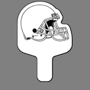 Custom Hand Held Fan W/ Football Helmet (Right Side), 7 1/2