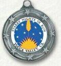 Custom Engravable Die Cast Medallion with 1 1/4