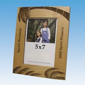 "7-1/2""x9-1/2"" Alderwood Flat Photo Frame (Screened), Price/piece"