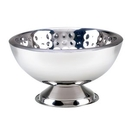 Custom 3 Gallon Bolt Hammered Double Wall Punch Bowl