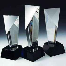 Excellence Crystal award (Sand Blasting), Price/piece