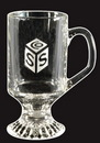 Custom Glass Irish Coffee Mugs - 10 Oz.