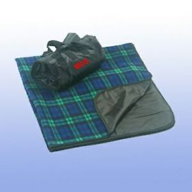 "Waterproof Plaid Picnic Blankets 50"" x 60"" (Screen Printed), Price/piece"