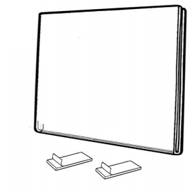 "Horizontal Side/ Top Loading Wall Frames (11""x8-1/2""), Price/piece"