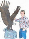 XL Peak Performer Eagle Sculpture (48