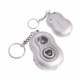Personal Panic Alarm with Compass & Led Light, Price/piece