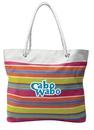 Custom Rope Tote Bag w/Classic Stripe