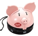 Custom Pig 60 Minute Kitchen Timer