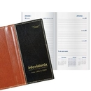 Custom Legacy Delta Work Weekly Pocket Planner W/ 4 Color Map, 3 5/8