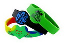 Custom Figured Silicone Wristband (1/2