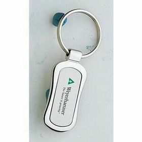 MDS Silver 2 Tone Metal Key Tag, Price/piece
