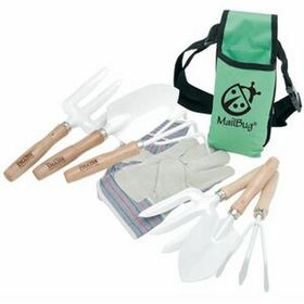 Ruff Ready Garden Tool Set with Apron - Imprinted, Price/piece