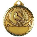 Custom Stock Round Bird Medal