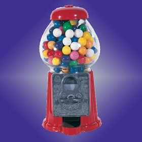 "9"" Standing Gumball Machine (Screened), Price/piece"