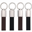 Custom CANVAS Metal key Chain in Shiny NP Finish(engraved), 3 3/4
