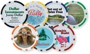 Custom Poker Chip Ball Marker With Peel Off Label, 1 1/2