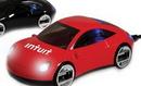 Custom Sports Car 4-Port USB 2.0 Hub