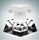 Custom Highest Honor Pate de Verre Optical Crystal Award, 6 1/2