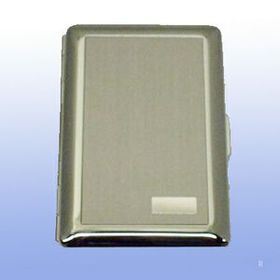 Satin W/Initial Panel Deluxe Credit Card Case (Screened), Price/piece