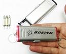 Custom Mini Screwdriver Tool Keychain with LED Flashlight