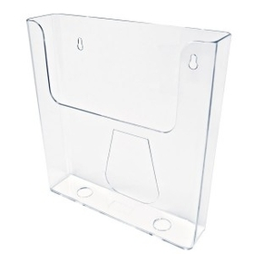 "Single Pocket Wall Mount Brochure Holder (8-1/2""x11""x2""), Price/piece"