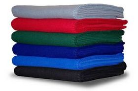 Econo Soft & Comfortable Fleece Throws (Engraved), Price/piece