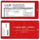 Custom XL Policy Holder w/ Extra Pocket /Open On Short Side / 9 1/2
