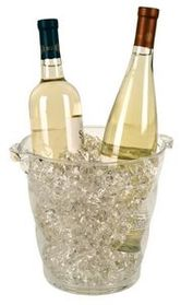 Monterey Acrylic Wine Cooler- Laser Engraved, Price/piece