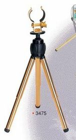 "7-1/2"" To 10"" Gold Plated Desktop Tripod (Screened), Price/piece"