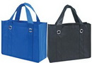 Custom Non-Woven Tote Bag w/ Fabric Covered Bottom (13
