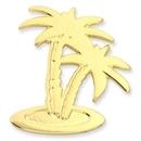 Custom Palm Tree Lapel Pin, 3/4