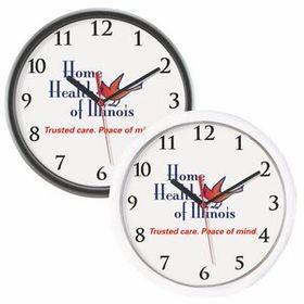"10"" Logo/ Photo Wall Clock, Price/piece"
