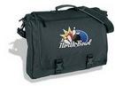 SanGlobal Custom Standard Briefcase, Polyester&Vinyl (16