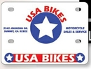 Custom Motorcycle License Plates -.055