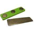 Custom Green Magnet: Bulk Badge Attachments