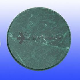 "3-7/8""x3/8"" Marble Coaster (Screened), Price/piece"