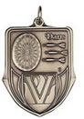 Custom 100 Series Stock Medal (Darts) Gold, Silver, Bronze