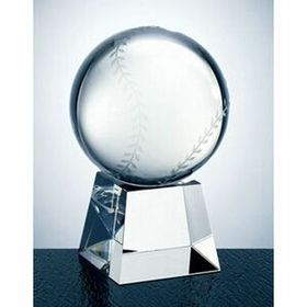 Baseball Award w/Short Base (Large) - Screened, Price/piece