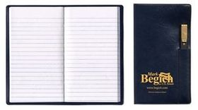 Tally Book w/ Executive Vinyl Cover & Flat Matching Pen, Price/piece