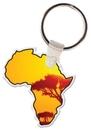 Custom Africa Key Tag