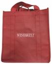 Custom Vino Sack 6-Bottle Bag with Open Top & Velcro Handles