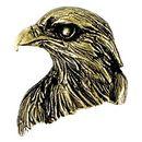 Custom Falcon Mascot Fully Modeled 3 Dimensional Pin
