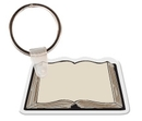 Gemini Custom Soft Vinyl Book Key Tag, 2.35