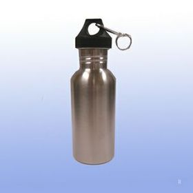 18 oz Stainless Sports Bottle (Screened), Price/piece