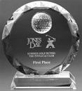 Custom Medium Putter's Paradise Trophy - Optic Crystal