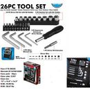 Custom 26pc Tool set in zipper travel case (Screen printed)