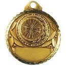 Custom Stock Round Darts Medal