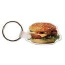 Custom Hamburger Food & Beverage Key Tag (2.01