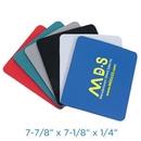 Custom Fabric Mouse Pad W/Rubber Base - Rectangular (1/4